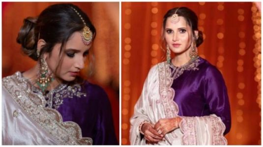 Sania Mirza is a beautiful bridesmaid in traditional sharara set for sister's wedding festivities. See pics