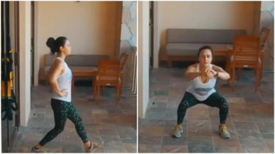 Preity Zinta shares new fitness video: This is how I kept sane during quarantine