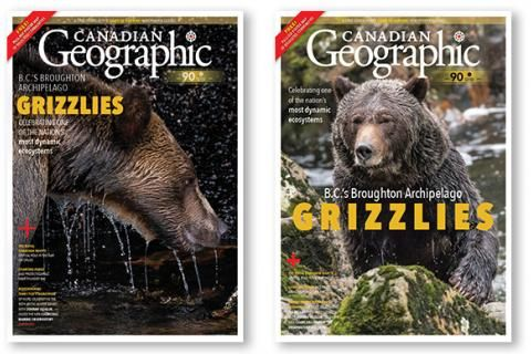 Help us choose the March/April 2020 Canadian Geographic cover!