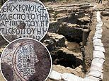 Mosaic floors from the 1,500-year-old lost 'Church of the Apostles' are discovered in Israel