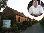 MailOnline reviews the two-Michelin-star Restaurant Sat Bains which refuses to serve vegan food