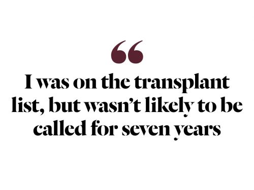 My Cousin Gave Me Her Kidney-And Saved My Life