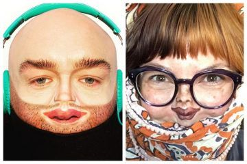 The Tiny Face Makeup Challenge Will Give You A Good Laugh