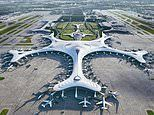 New airport terminal in China's 'city of ice' will look like a snowflake