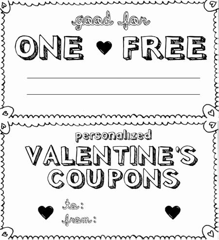30 New Coupon Books for Boyfriend Template Pics