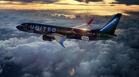 Fly the Friendly Galaxy: United Airlines Joins Forces with Star Wars