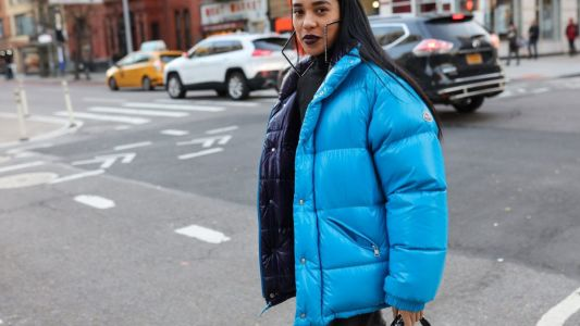 How to wear puffer jackets on your next winter holiday and actually look chic