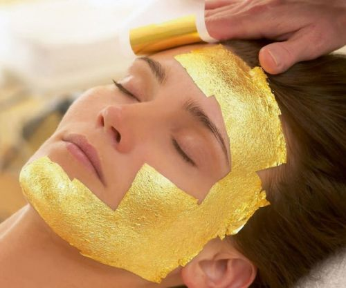How effective are gold beauty products and skincare?