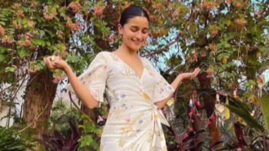 Alia Bhatt in Rs 4k floral print wrap dress is summer season in one picture
