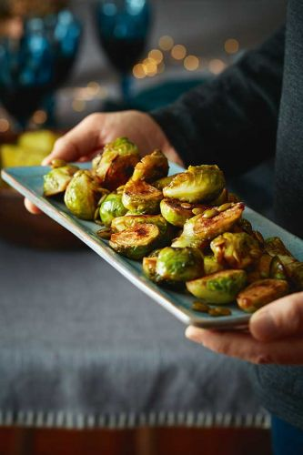 Recipe: Ruth Pretty's Brussels Sprouts with Honey & Toasted Pepitas