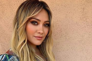 Hilary Duff Just Dyed Her Hair Bright Blue