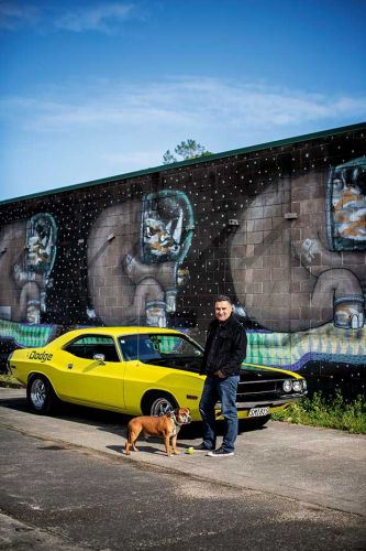 Gary Covich was unsure he'd ever get his yellow Dodge Challenger on the road