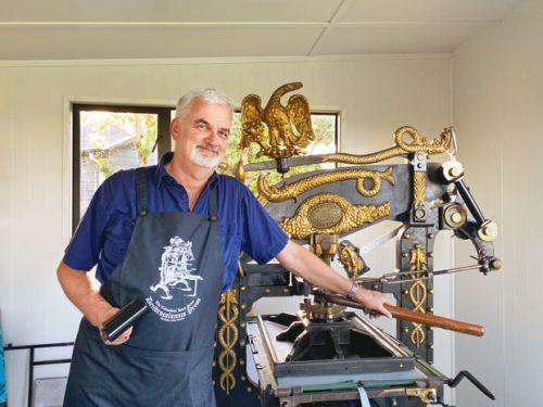 How Willy Coenradi is reviving antique printing presses - one letter at a time