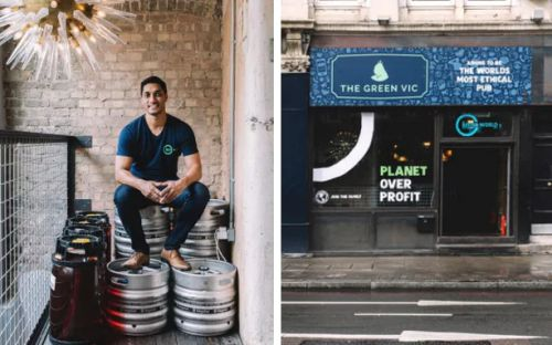 Is this the world's most ethical bar? This London pub is aiming to be the most eco-friendly, socially-conscious boozer on the planet