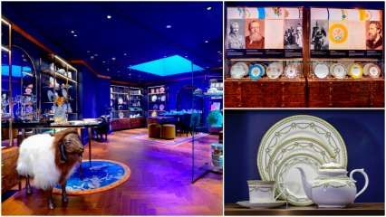 Check out Thomas Goode & Co's new boutique and museum at the Oberoi Hotel in Mumbai