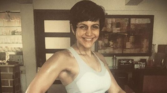 Mandira Bedi is all smiles in new post-workout pic. Her caption wins the day