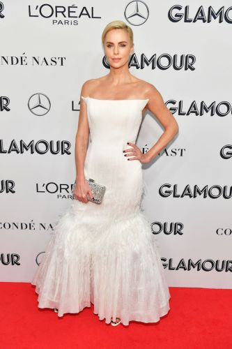 OMG-Charlize Theron Just Gave Us the Ultimate Winter Wedding Dress Inspo