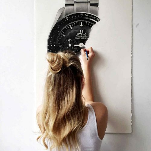 Julie Kraulis is The World's First-And-Only Wristwatch Portraitist